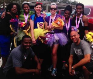 Disney Princess Half-Marathon Glow, 2014